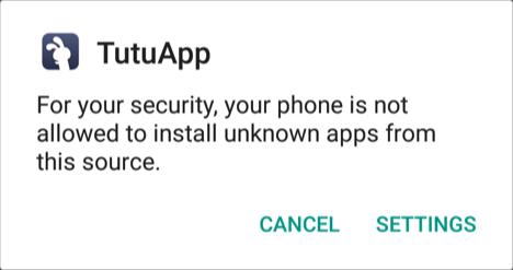 TutuApp Installation 1